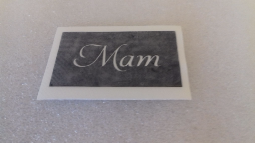 1 100 X Mam Word Stencils For Glitter Tattoos Airbrush